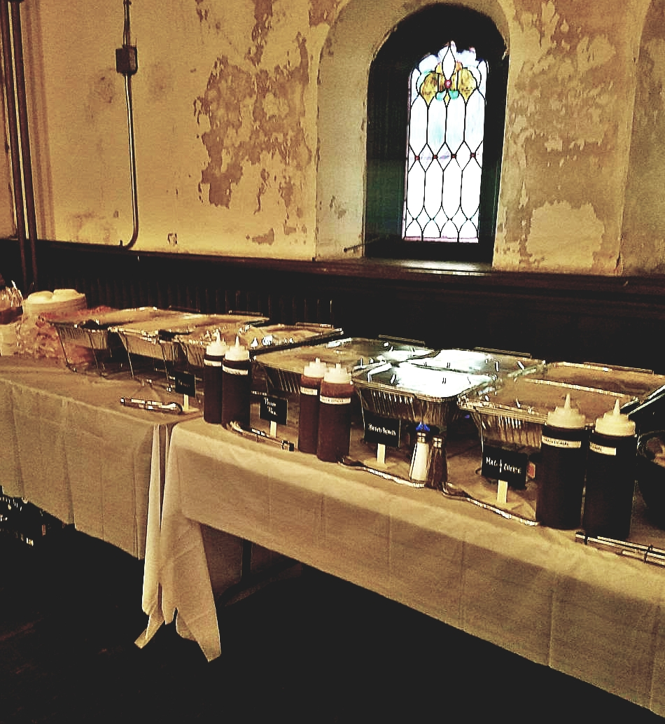 Drop Off Catering - Casual and easy...we set up your food and go!