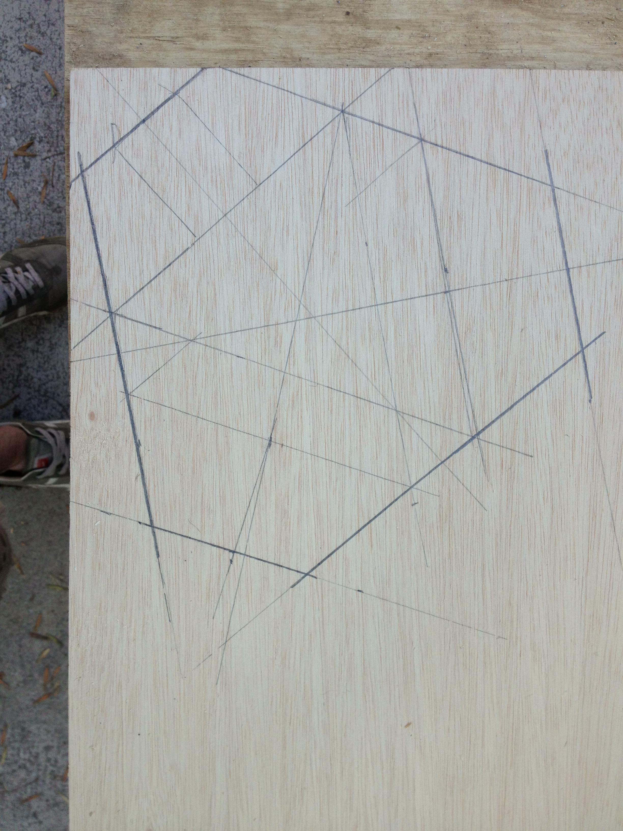 Geometry of top plate.
