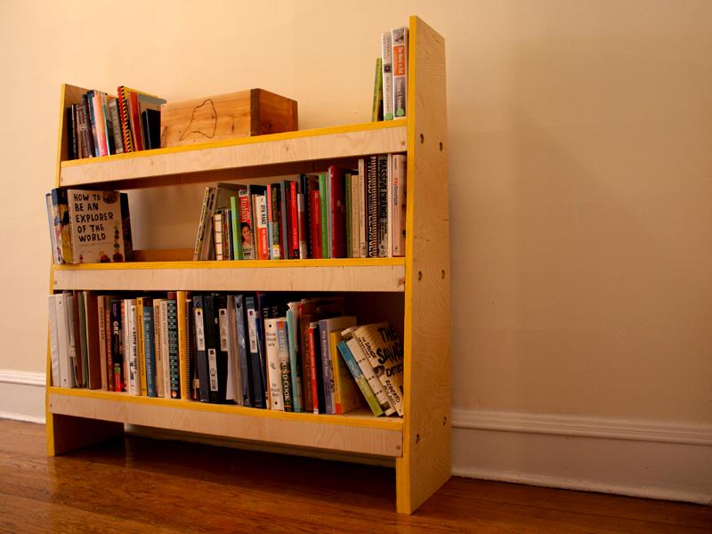 The original Knock-Down Shelves.