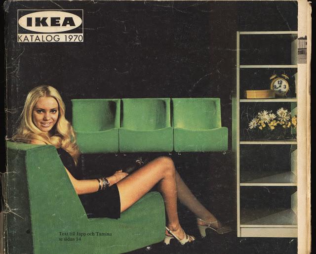 Vintage IKEA catalog, via Nordiska Style.