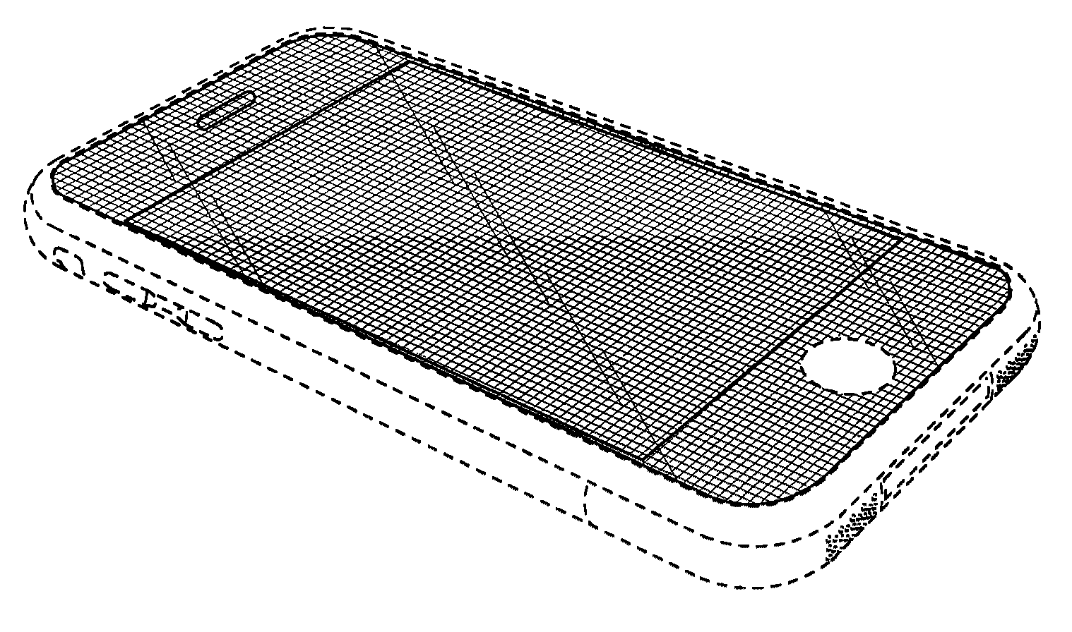 The rectangle in question, via  Google Patent search .