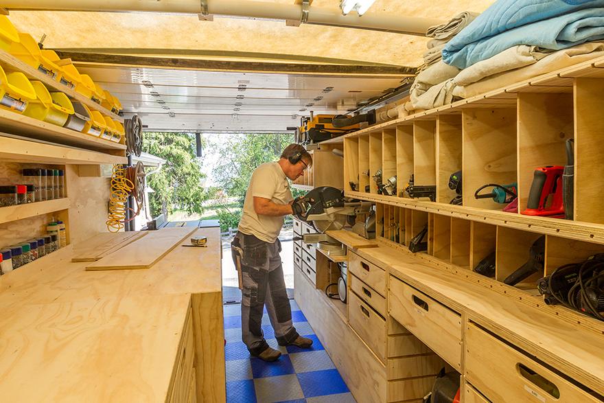 Ron Paulk's shop,  via C ore77.