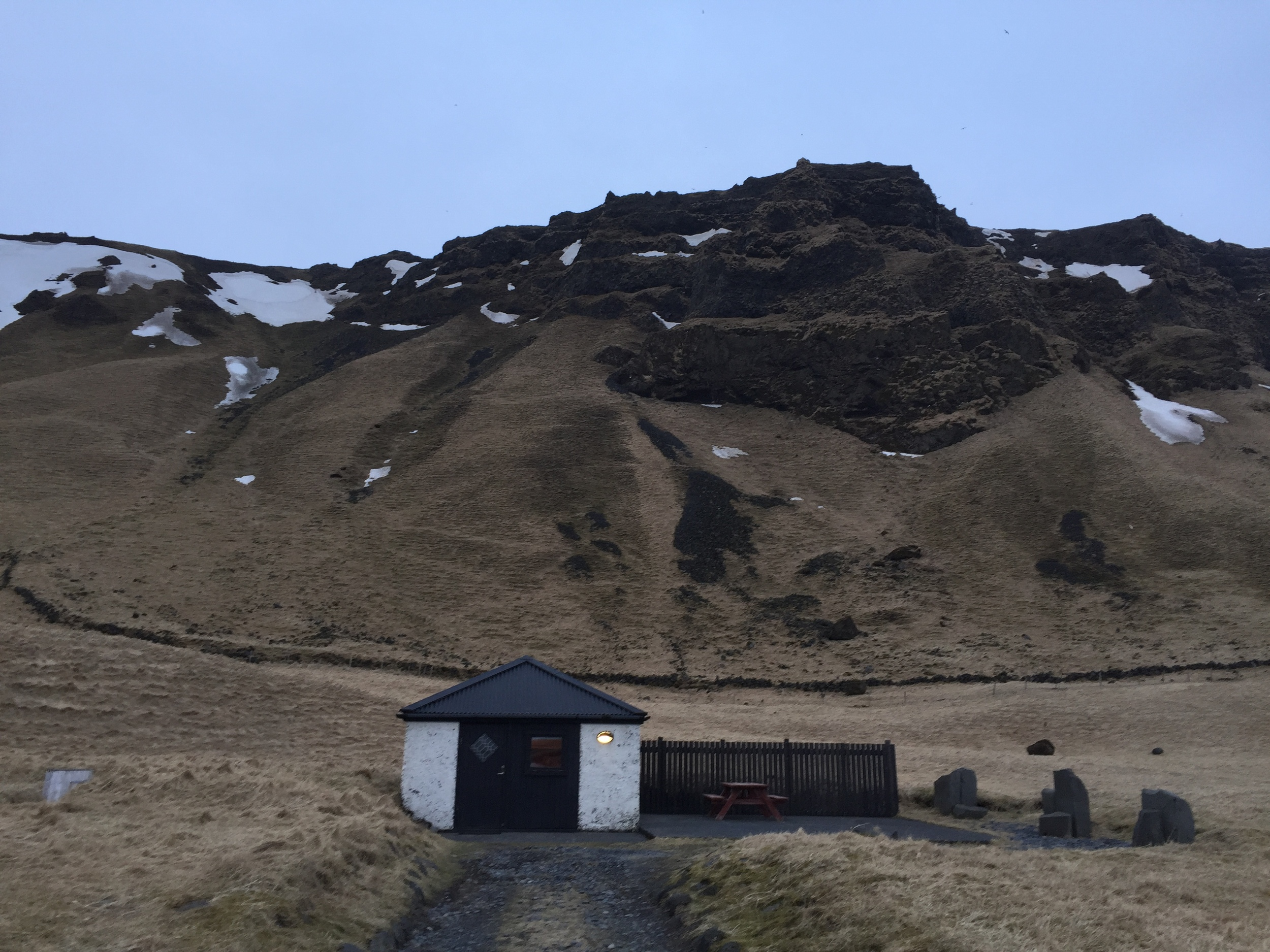 Our cottage in Vik.
