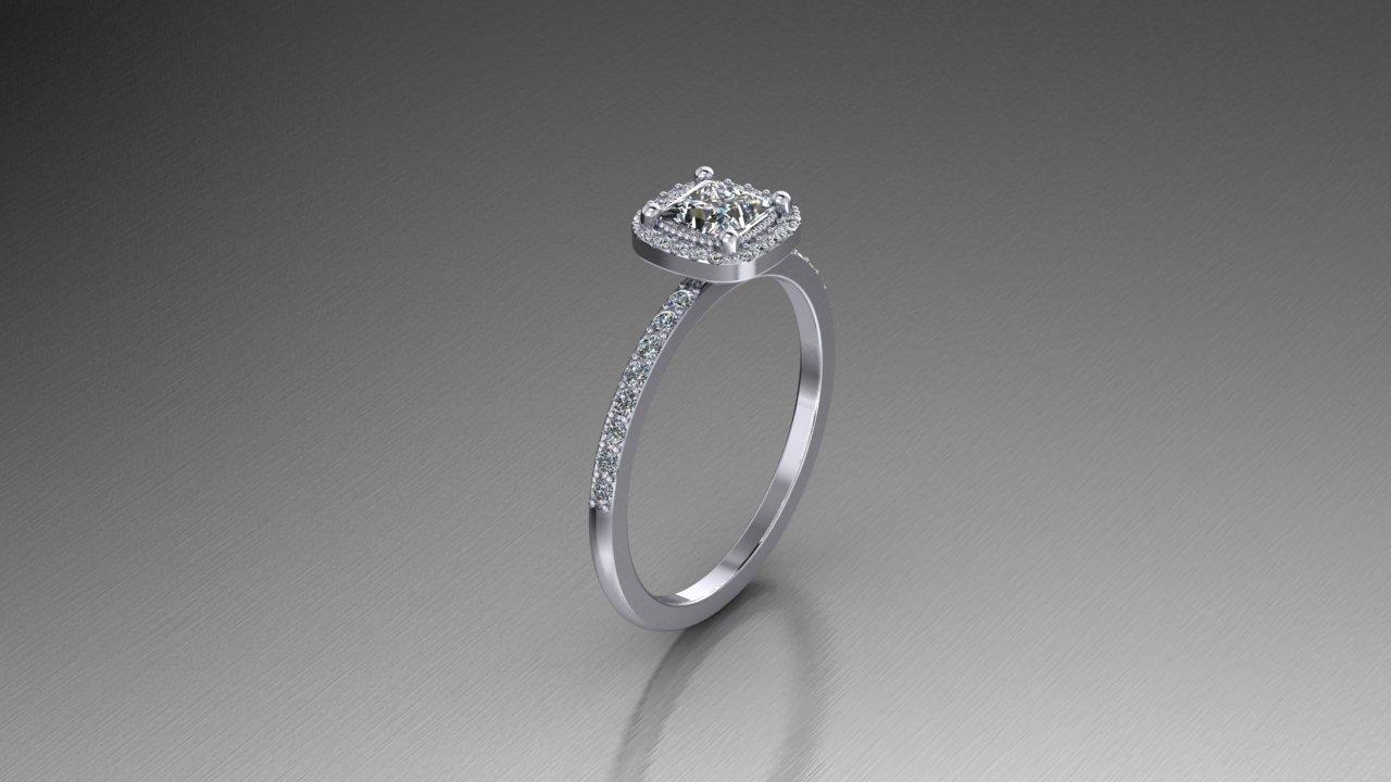 Elegant Platinum Half Carat Princess Cut Halo Ring Zander S Creations Engagement Rings Wedding Rings Wedding Band Contemporary Jewelry Art Deco Jewelry Antique Jewelry Gold Jewelry Silver Jewelry Platinum Jewelry Diamond Jewelry