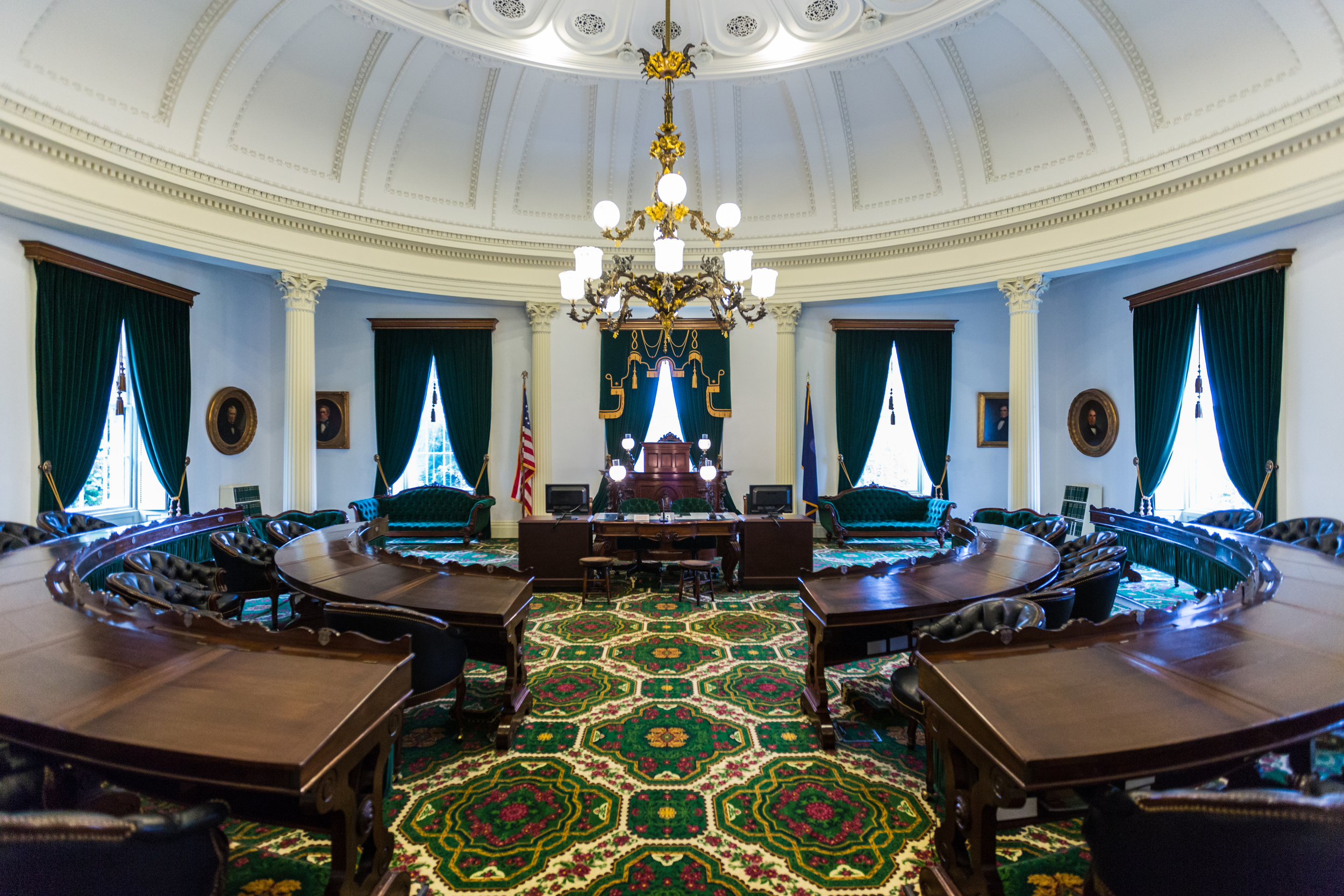 Representative's Hall inside Vermont's State House