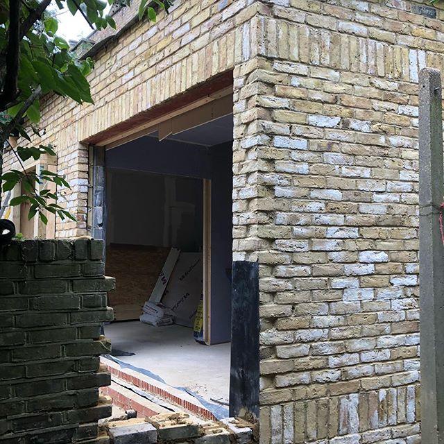 Job in progress W9 London (extension)