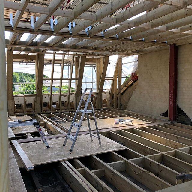 Loft Extension Islington N1 London /Progress