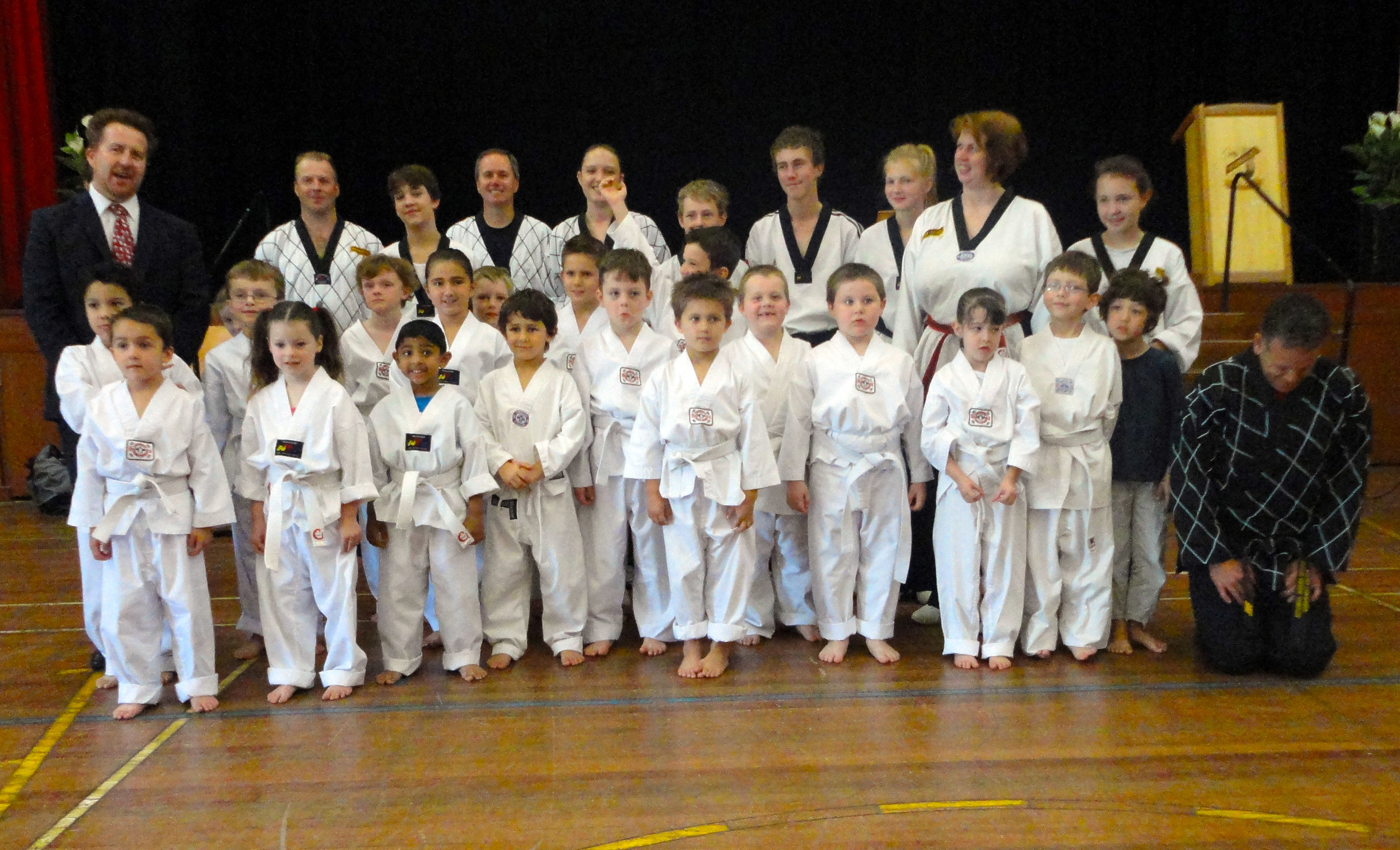 Junior White Belts