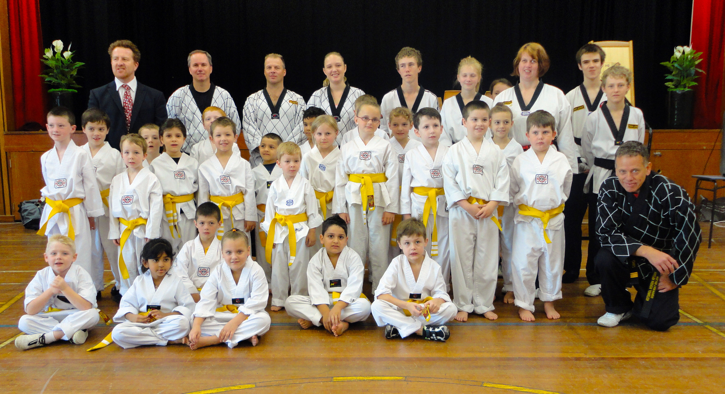 Junior Yellow Belts