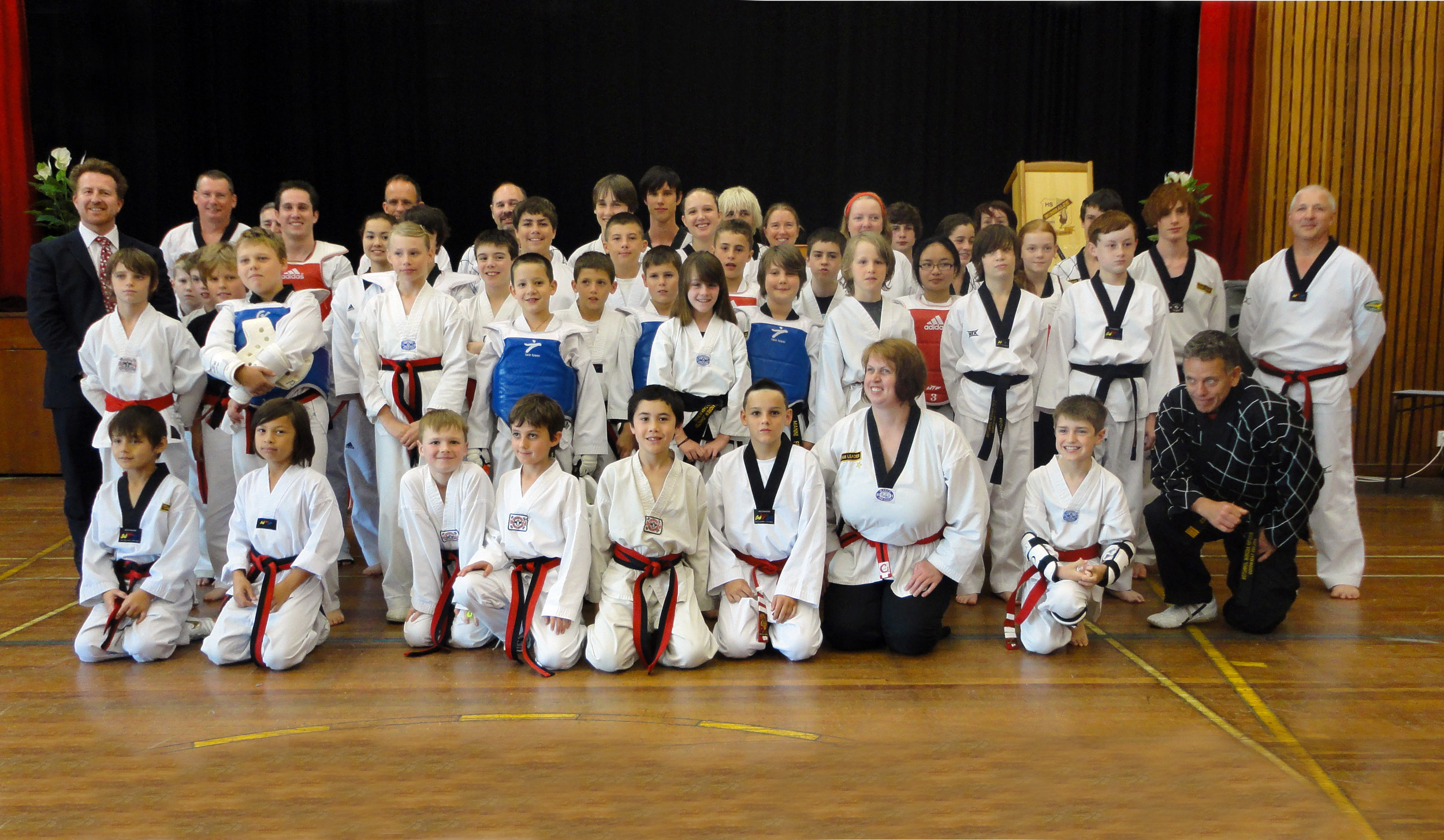 Provisional Black Belts