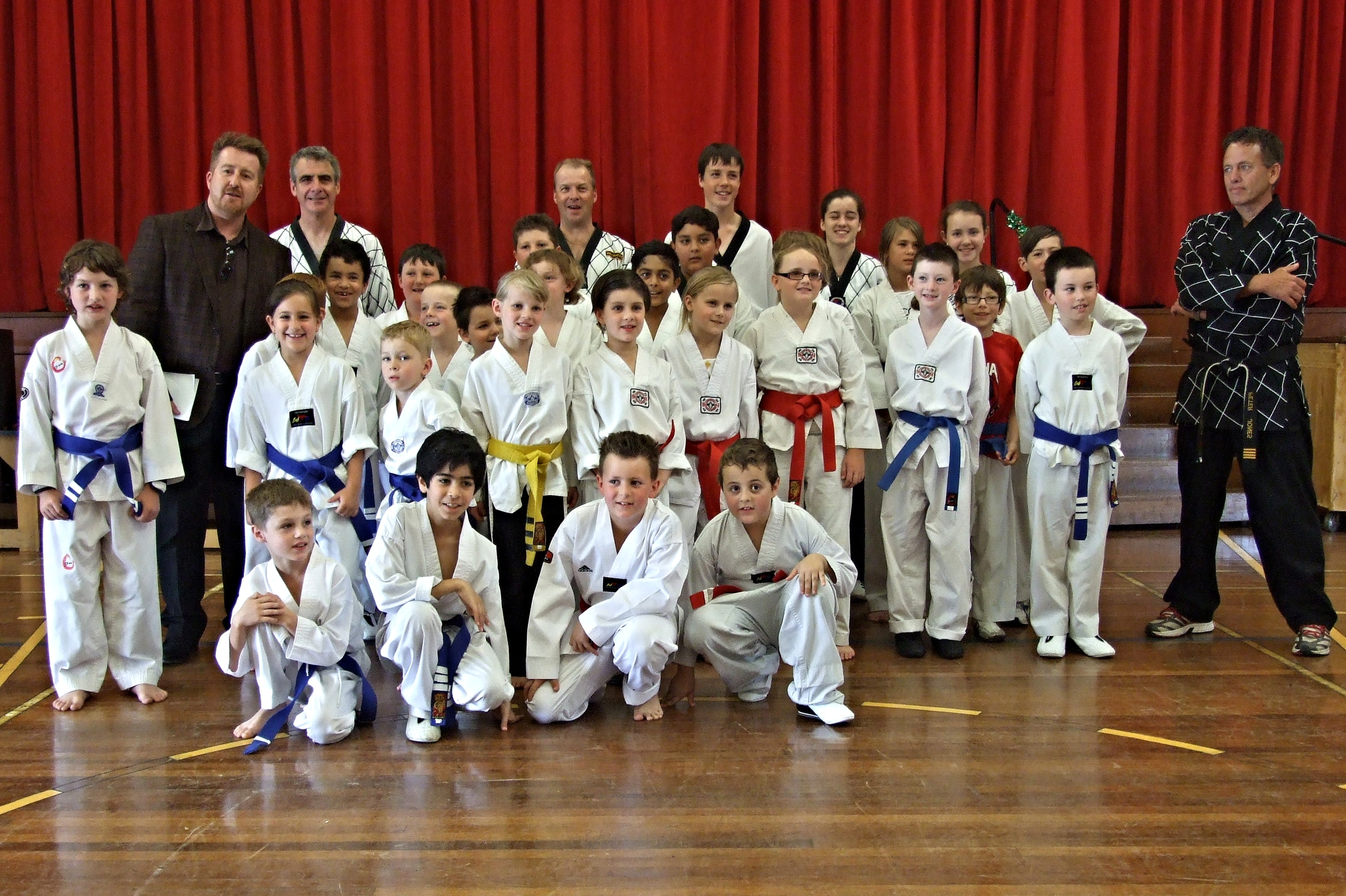 Wolf Pack – Blue & Red Belts