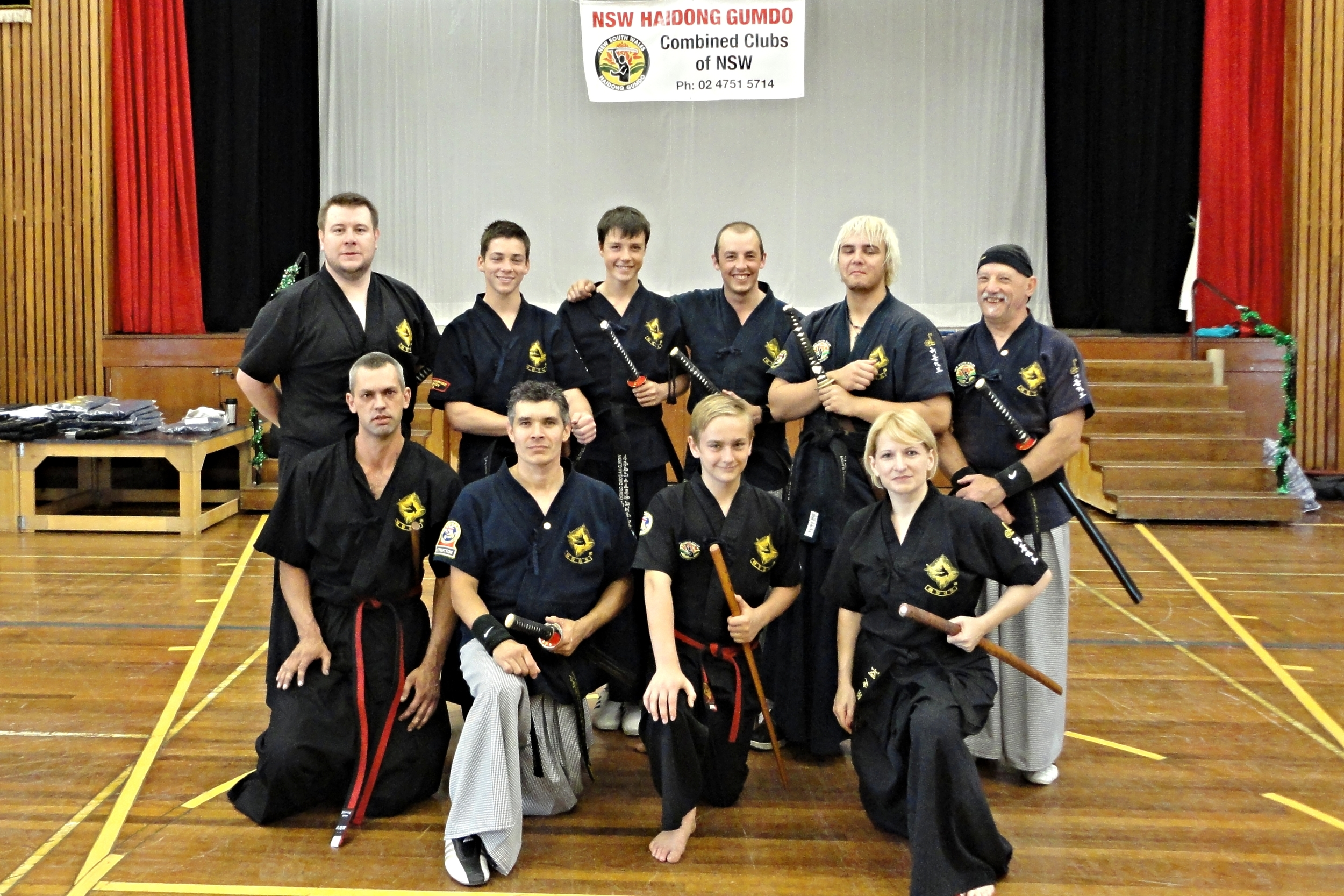 Haidong Gumdo Instructor Seminar