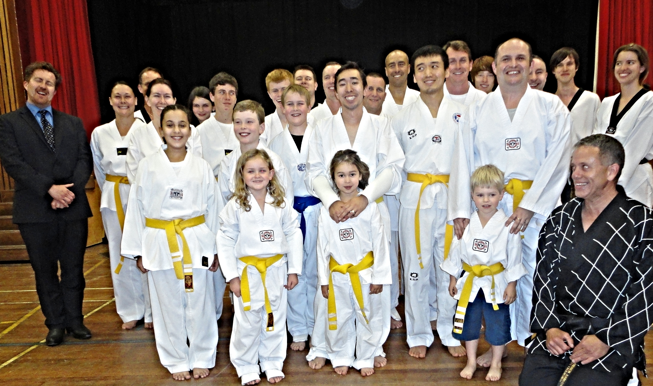 Senior Yellow Belts