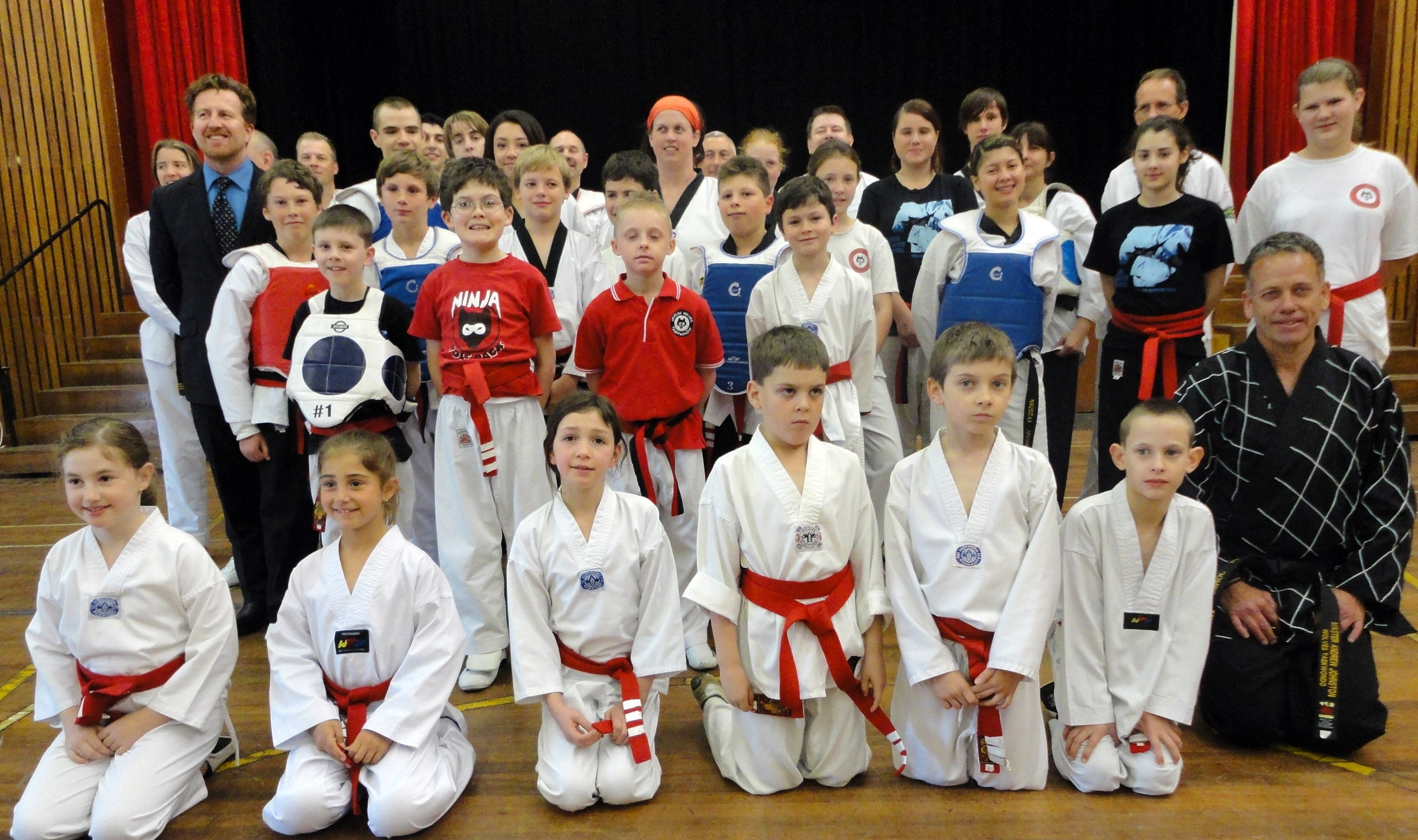 Senior Red Belts