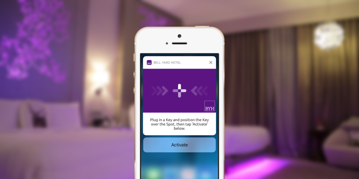 An example of the seamless integration you can get with our mobile SDK with wireless charging activation through iOS 10 notifications.