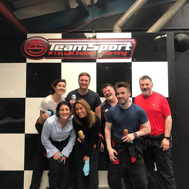 And we have a winner.. 🏁🏎 #teamoffsite