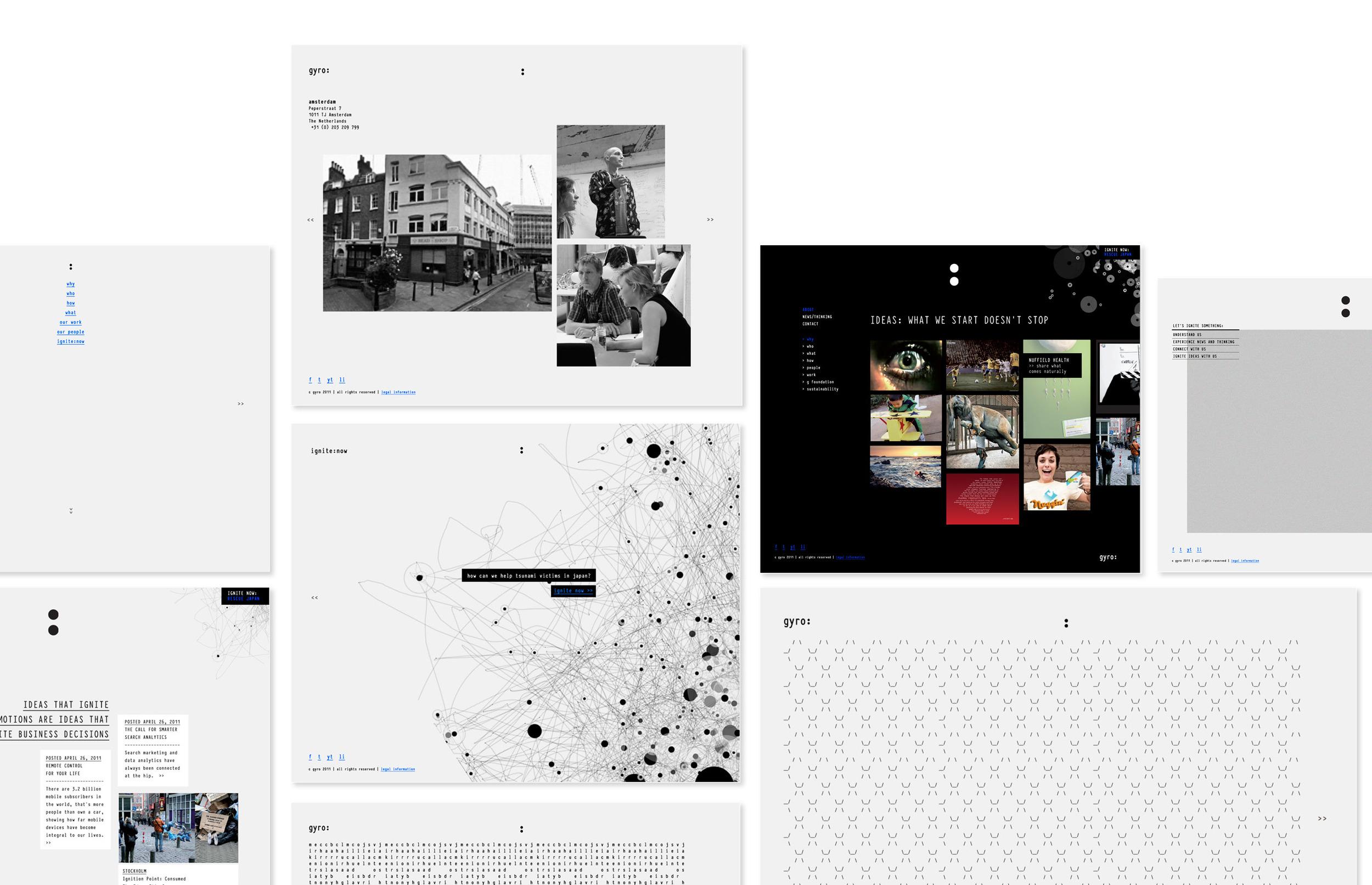 gyro.com - UX + UI Design