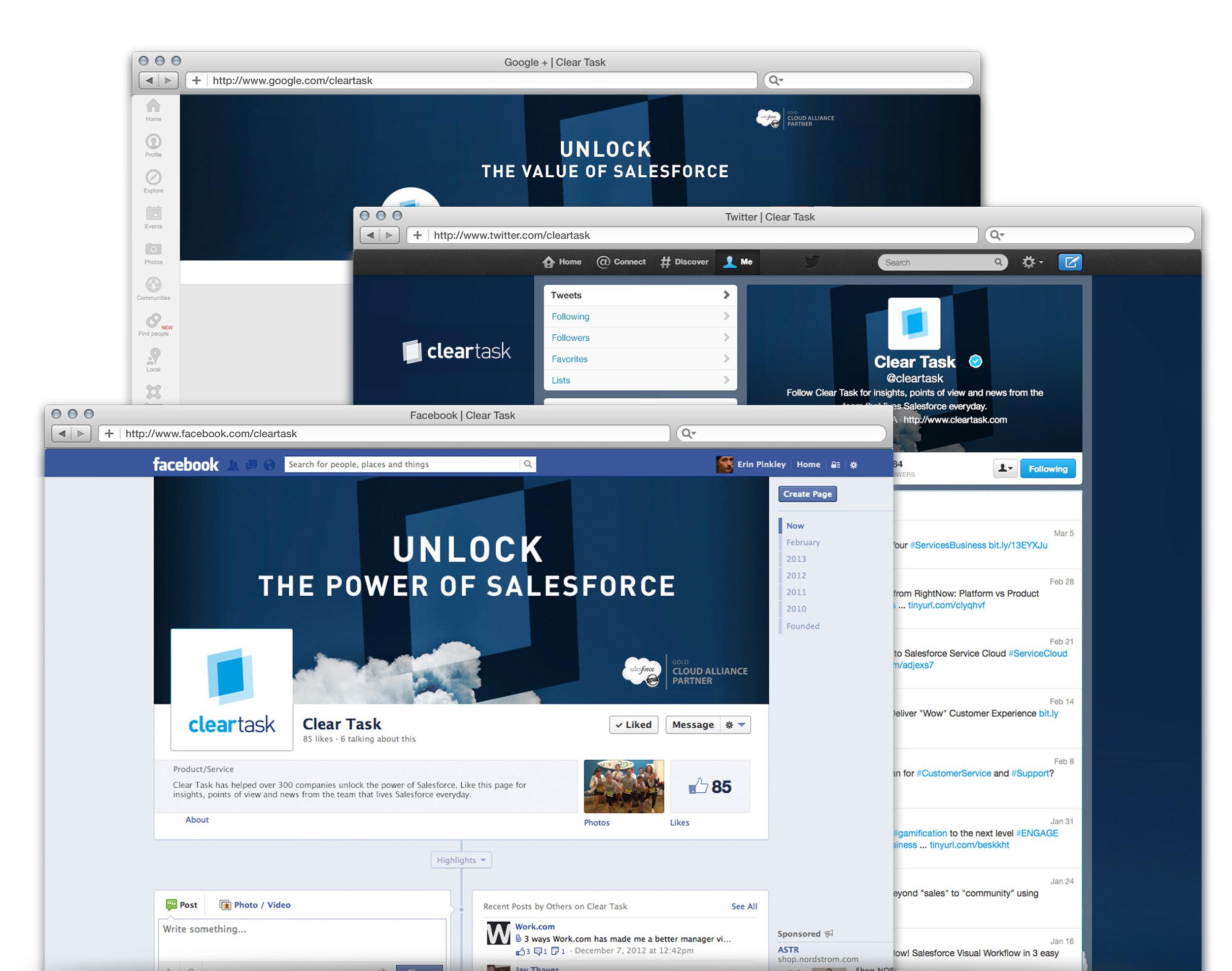 Social Media Strategy + Design