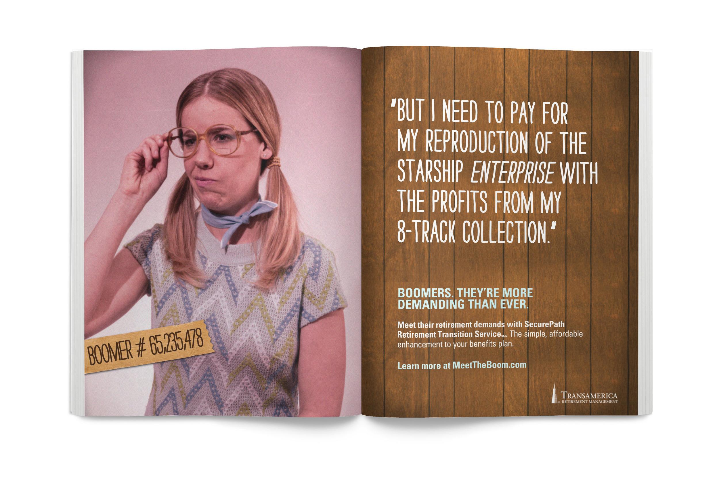 Print Advertising - Design + Art Direction