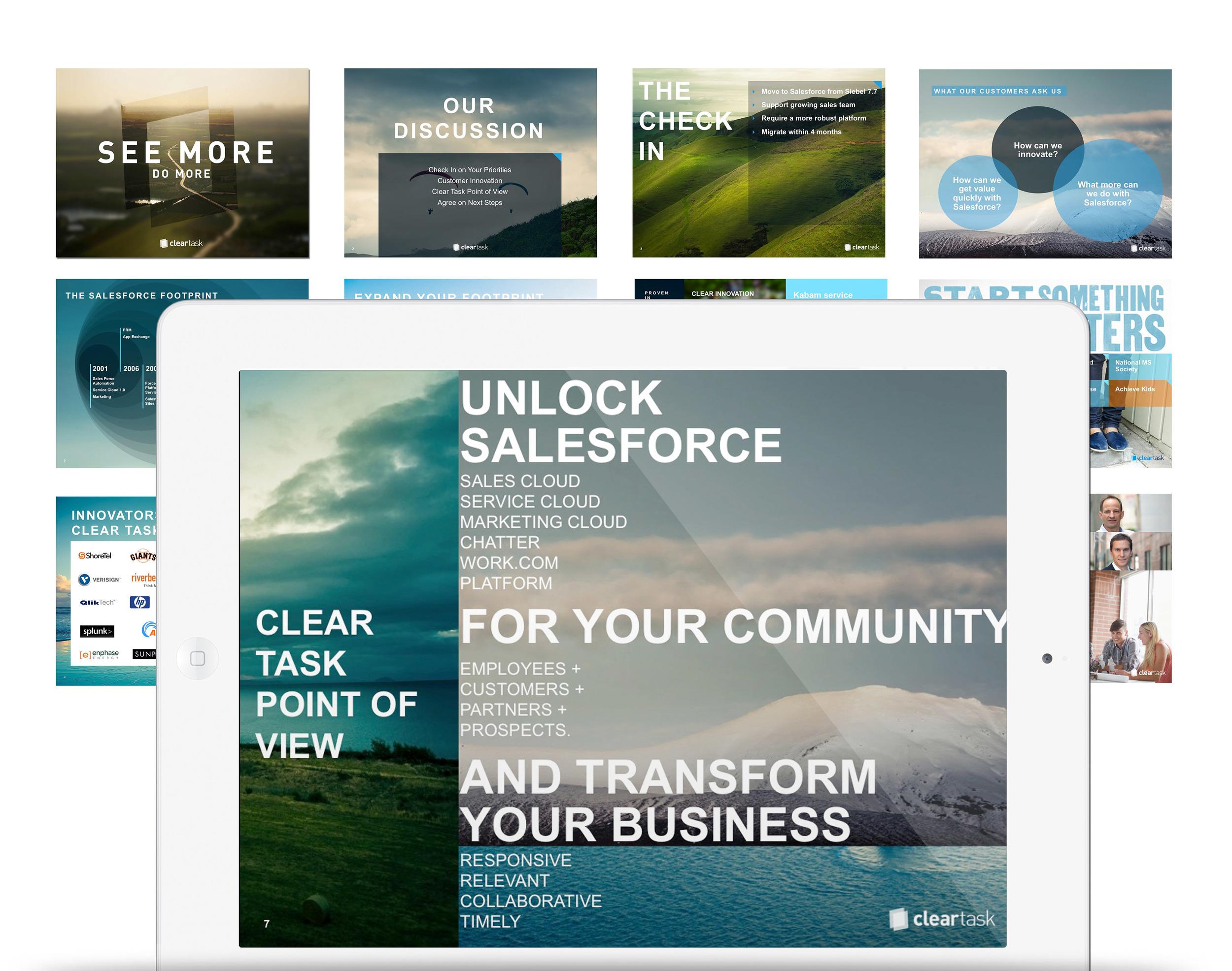 Sales Tools - Art Direction + Design