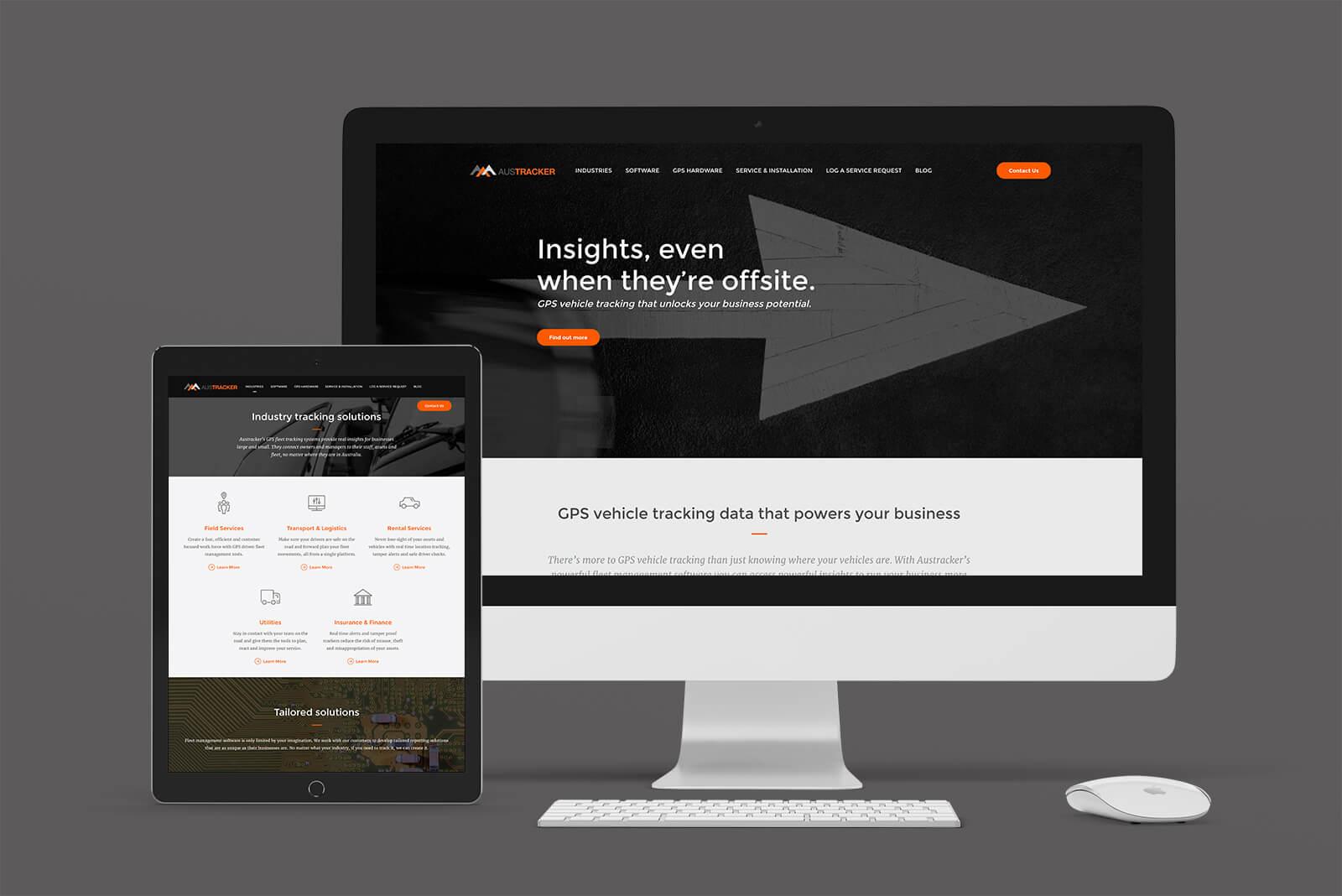Austracker website
