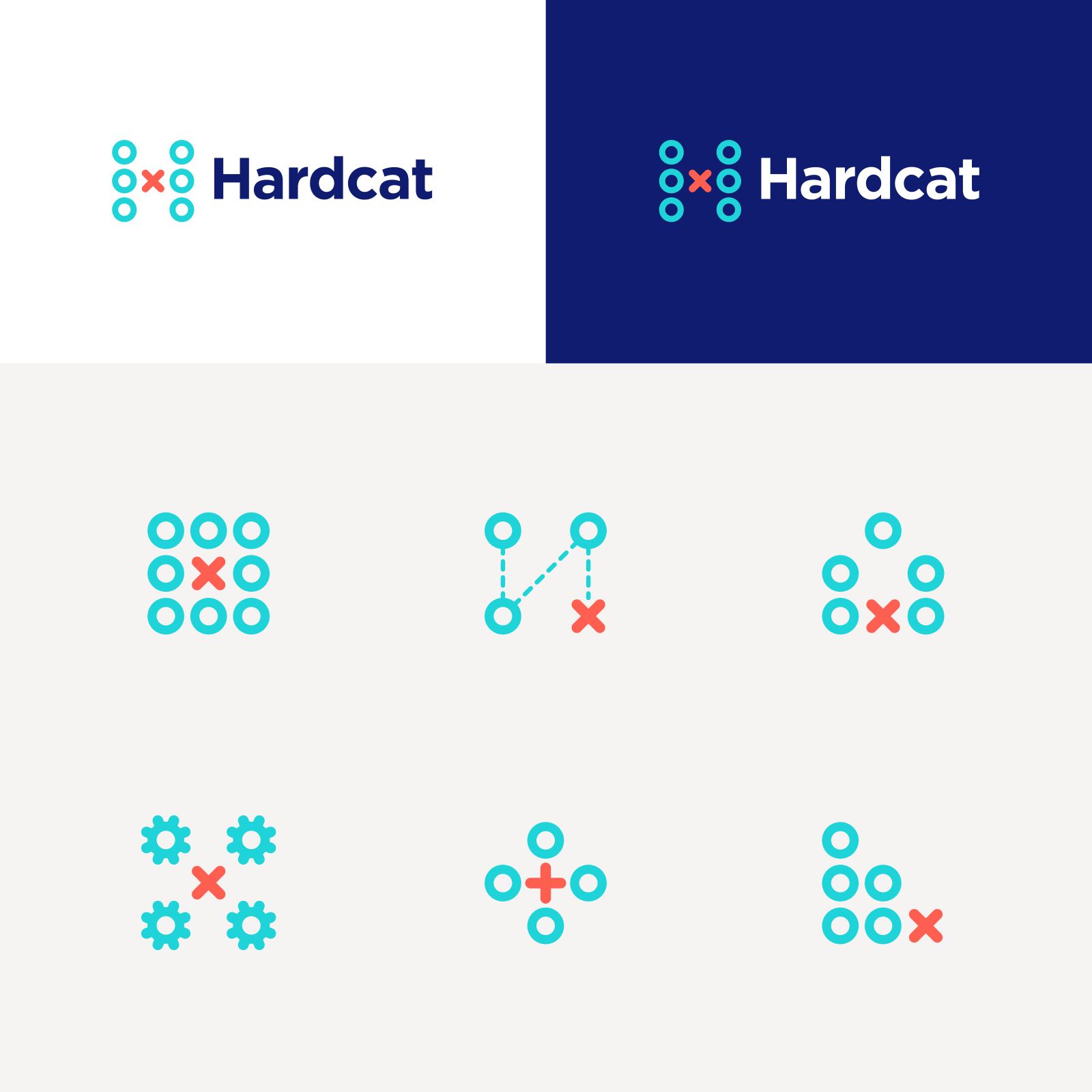 Hardcat brand positioning, visual identity and website