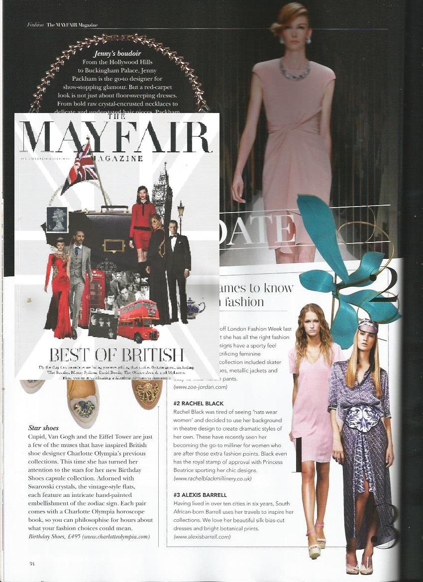 Mayfair Magazine April 2013