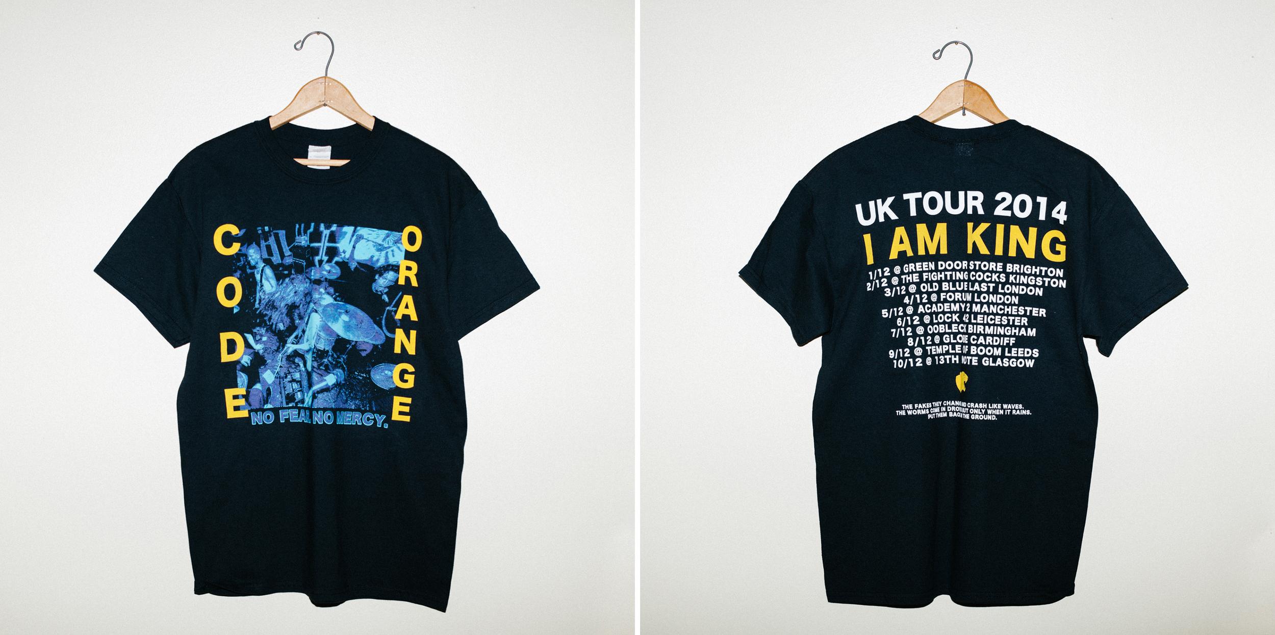 Code Orange UK Tour 2014 Shirt
