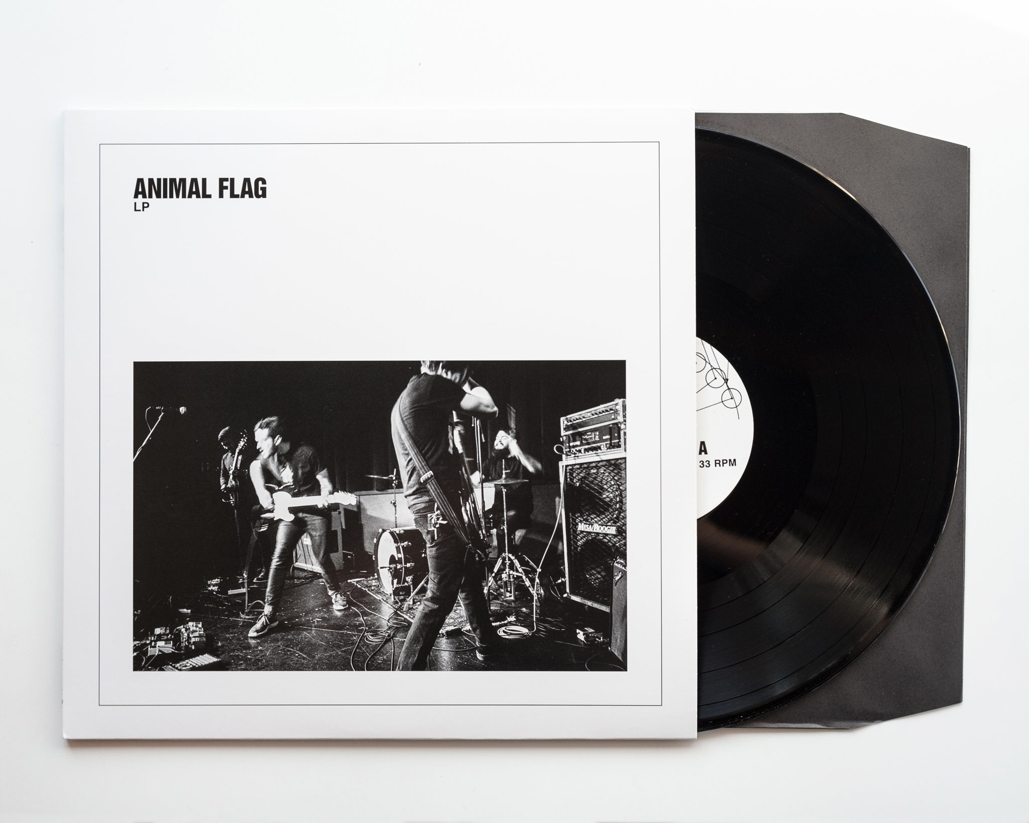 Animal Flag - LP via Broken World Cover photo