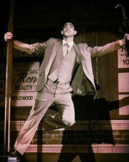 As Don Lockwood in Singin' in the Rain