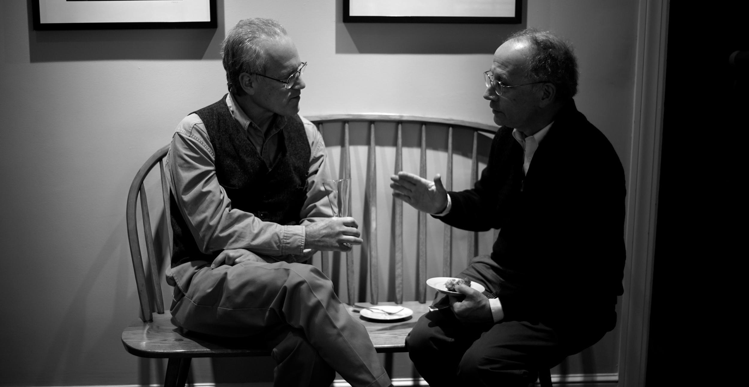 Peter Korn and Steve Durning