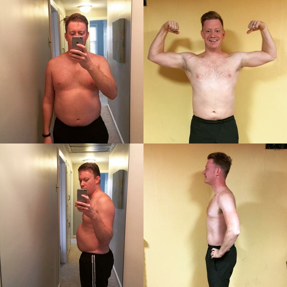Curt's CrossFit transformation.