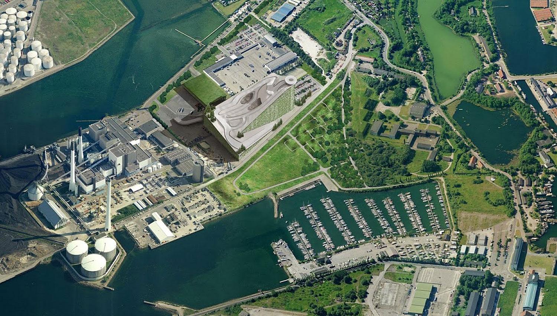 ARC POWER PLANT ROOFTOP SKI SLOPE, DENMARK