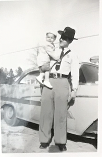 Leon with his son Jimmy, early in his SCHP career.