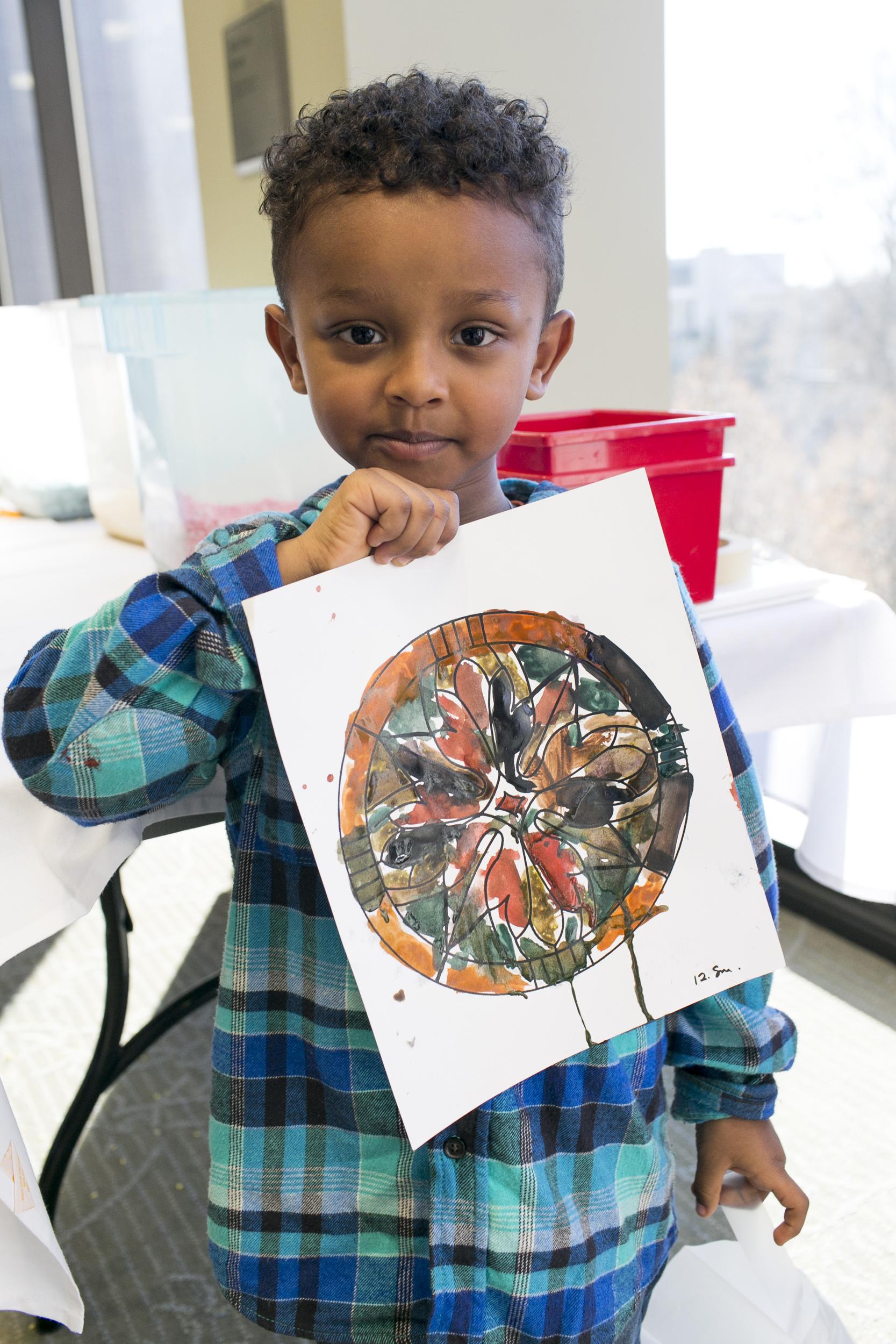 Minneapolis Institute of Art Family Day Emma Freeman