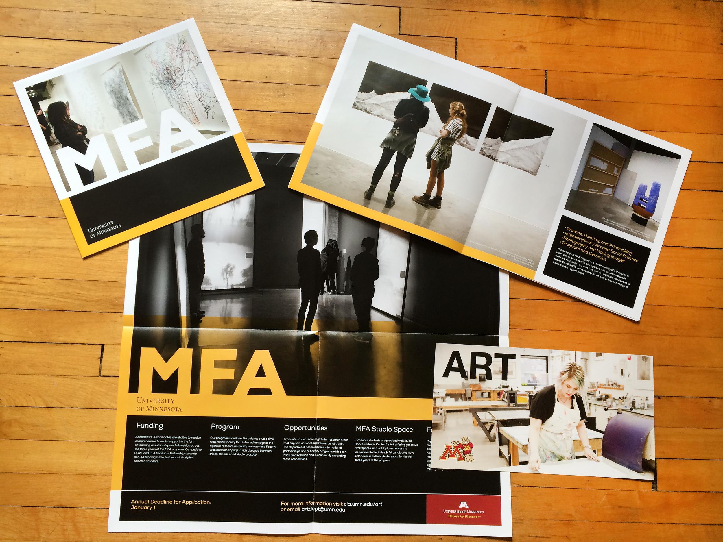 University of Minnesota Marketing Pieces