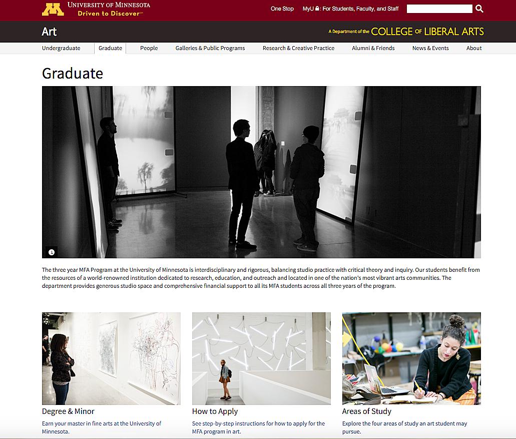 University of Minnesota Website