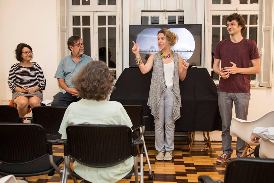 Ateliê Aberto:Conversa com José Diniz e Marcia Mello   9/agosto / Foto: Hans Georg