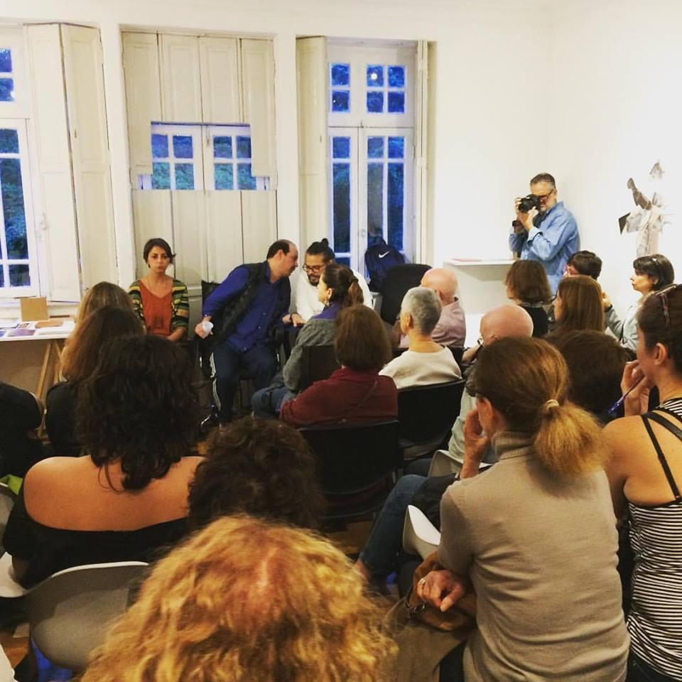 Ateliê Aberto: Conversa sobre Livro Inventado, exposição organizada por Marcos Bonisson   8/julho