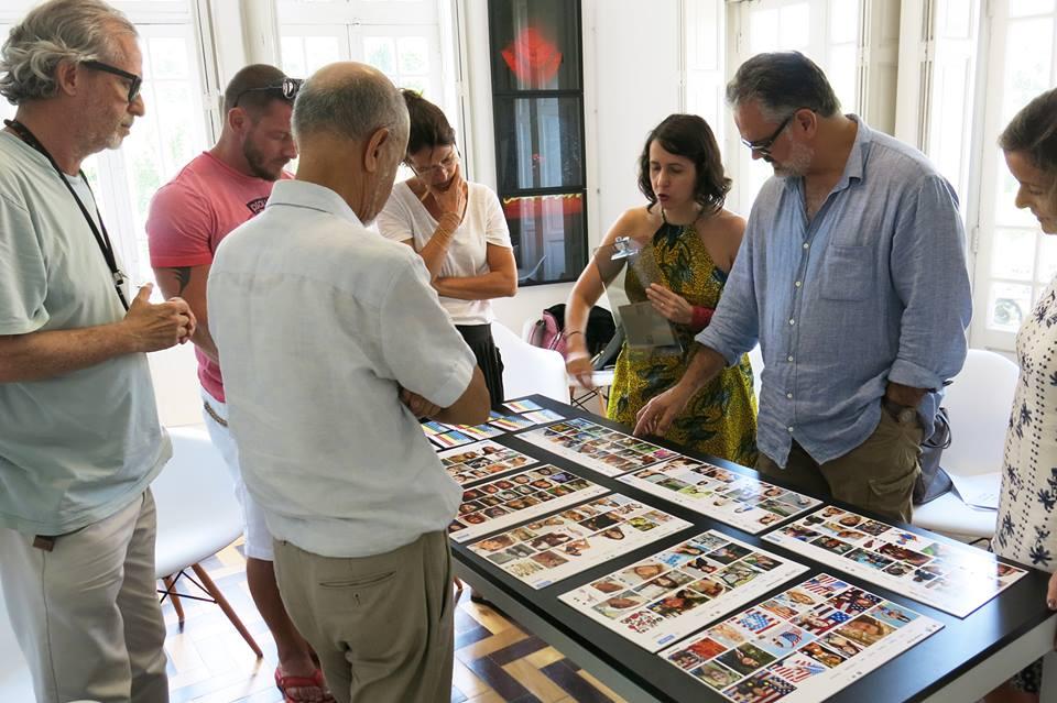 Workshop de processos criativos em imagens, c/ Marcos Bonisson e Joaquim Paiva   27/janeiro