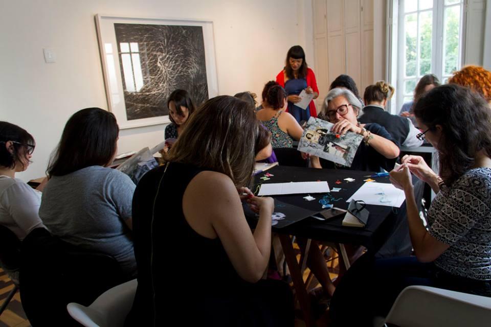 Workshop O ponto encontra a imagem - fotografia e bordado, c/ Aline Brant   28 e 29/outubro