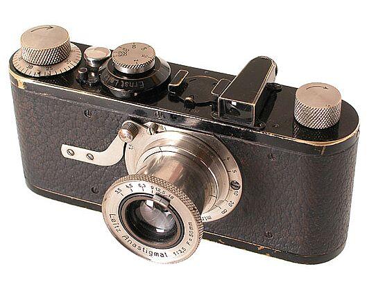 Um dos primeiros modelos de Leica