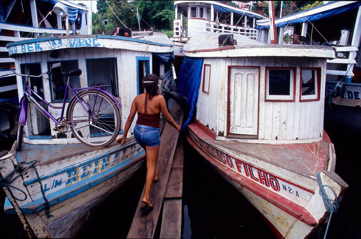 Com que barco eu vou? (foto Andreas Valentin, 1999)