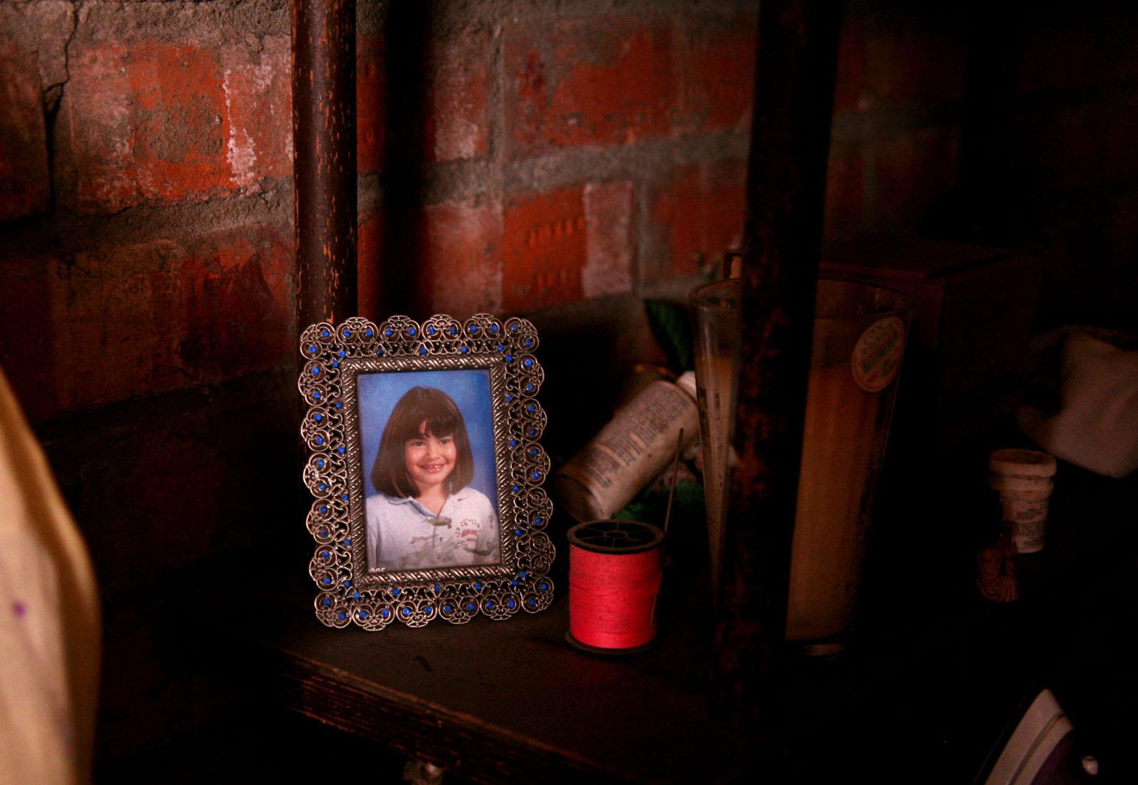 Anita desapareceu com 9 anos em 18 de Março de 1999. Mayra Martell