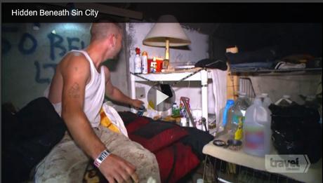 Hidden Beneath Sin City behind the scenes