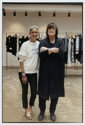 Isabel Marant and Margareta Van Den Bosh