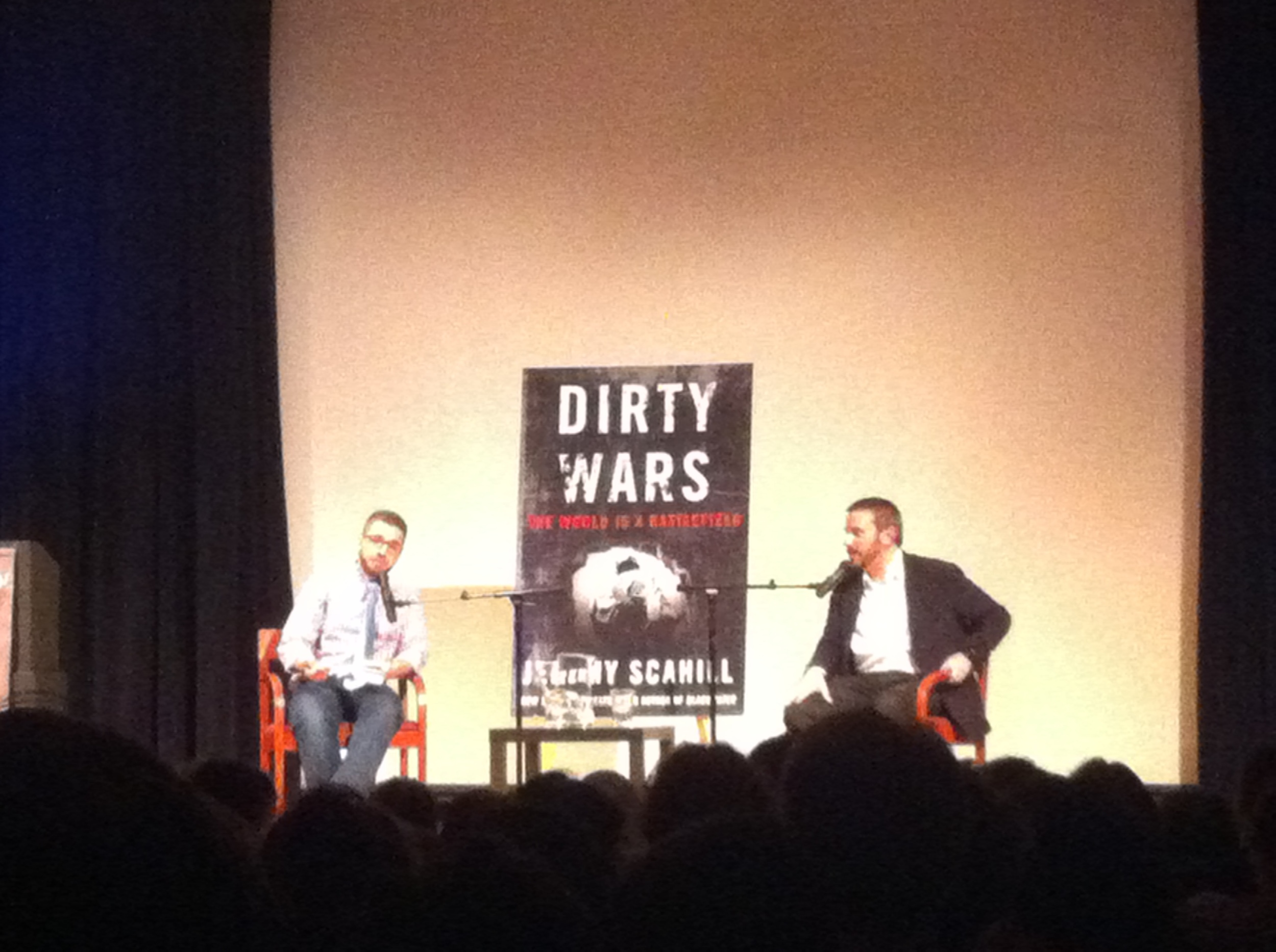 Jeremy Scahill and Spencer Ackerman.JPG