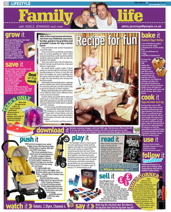 Published in The Sunday People, Feb 26, 2012