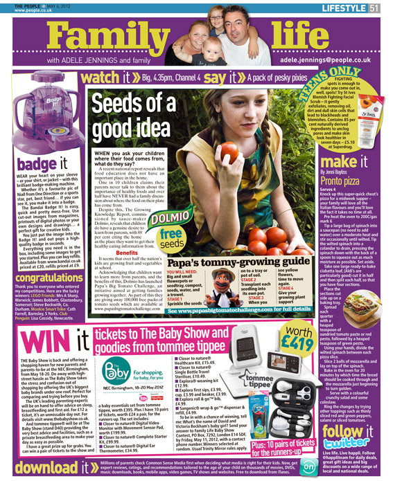 Published in The Sunday People, May 6, 2012