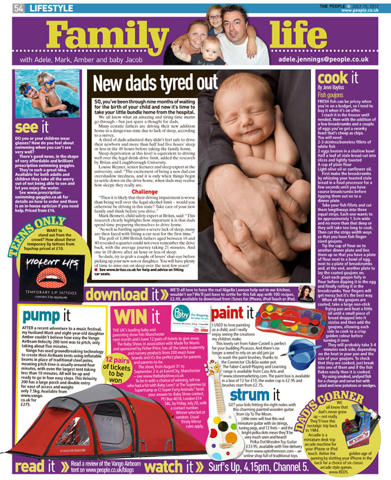 Published in The Sunday People, July 15, 2012